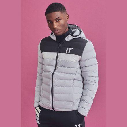 11 Degrees Grey Jacket