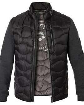 Milestone Washington Quilted Jacket Black