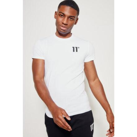 11 Degrees White T-Shirt