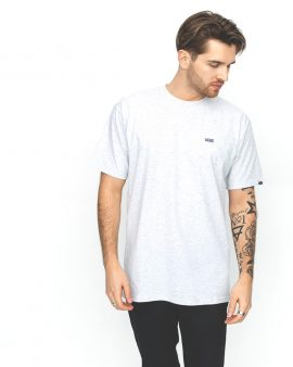 Vans Left Chest Logo T-Shirt Heather
