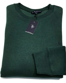 Tom Penn Crew Neck Sweater Green