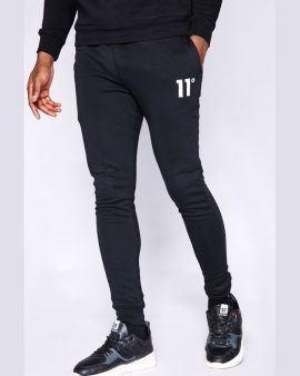 11 Degrees Core Joggers Skinny Fit Black