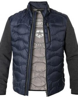 Milestone Washington Quilted Jacket Midnight Blue