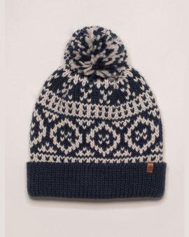 Brakeburn Chunky Fairilse Knit Hat Navy