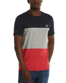 Penguin Colour Block T-Shirt Dark Sapphire