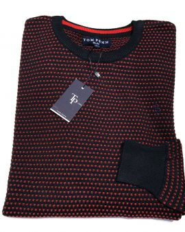 Tom Penn O'Neill Knit Navy Red