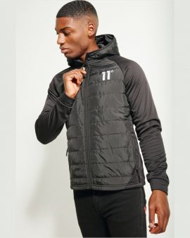 11 Degrees Neoprene Hybrid Jacket Black