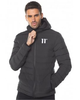 11 Degrees Space Jacket Black