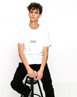 Vans Easy Box T-Shirt White