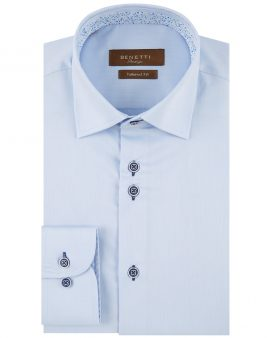 Benetti Atlanta Formal Tailored Shirt Sky Blue