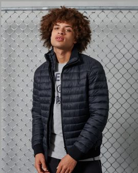 Superdry Fuji Bomber Jacket Eclipse