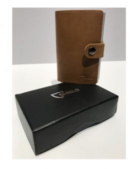 Shield Protect Wallet Tan