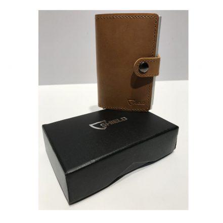Shield Protect Wallet Tan
