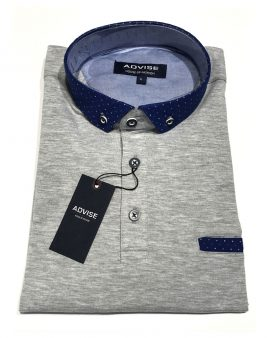 Advise Polo Shirt Grey