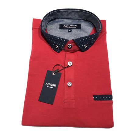 Advise Polo Shirt Red