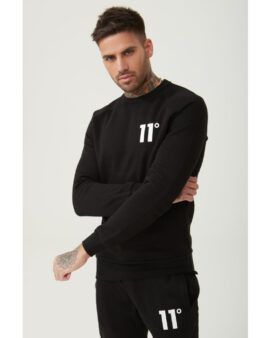 11 Degrees Core Sweat Black