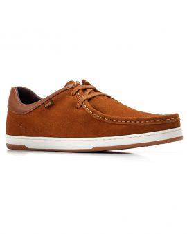 Base London Dougie Shoe Suede Tan
