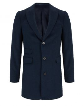 Benetti Charles Wool Coat Navy