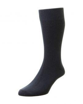 HJ Hall Bright Colours Fashion Socks Navy