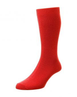 HJ Hall Bright Colours Fashion Socks Red