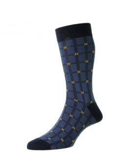 HJ Hall Windowpane Socks