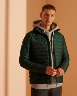 Superdry Fuji Padded Jacket Enamel Green