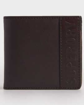 Superdry Vermont Wallet Dark Brown