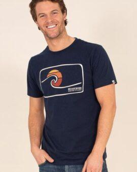 Brakeburn Organic CottonKeeping It Simple Graphic T-Shirt