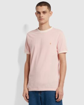 Farah Texas Slim Fit Organic Cotton T-Shirt