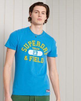 Track & Field Graphic Standard Weight T-Shirt